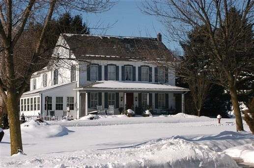 Winter Time At The 1825 Inn Bed And Breakfast Near Hershey Pa Bb