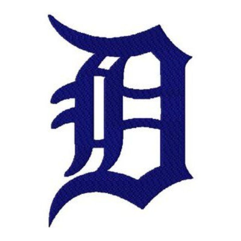 Detroit Tigers Logo Stencil | Buy Detroit Michigan Tigers Baseball ...