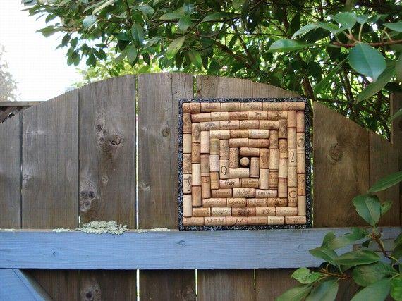 cute little #cork board.  #recycled