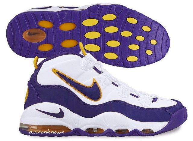 super popular 3e113 9657b Nike Air Max Tempo Lakers. Since their original release, the Air Max Tempos  has always been a favorite. Possibly the most colorways of the same shoe  I ve ...