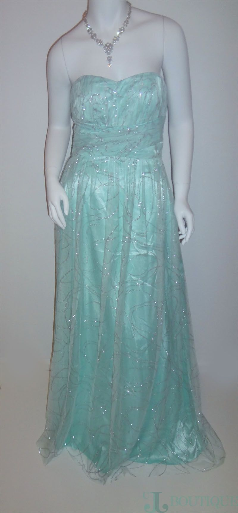 Blue strapless dress strapless dress prom night and night parties