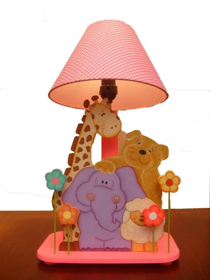 L mpara animalito ni os pinterest animales cosas - Lamparas para ninos ...