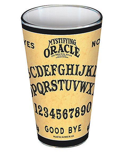 16 oz Ouija Pint Glass - Spirithalloween.com