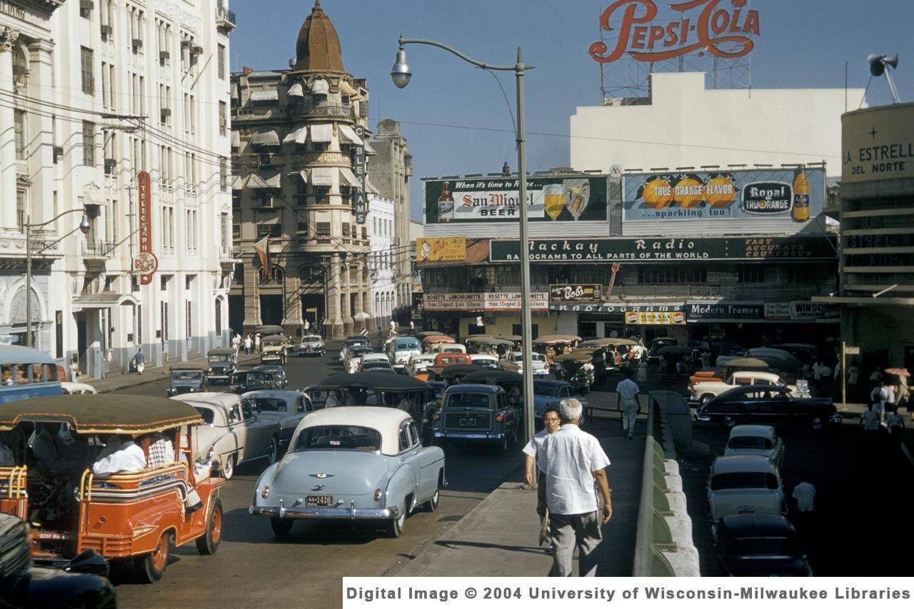 Manila The Most Beautiful City In Asia 1950 S To The Mid 1970 S Manila Philippines Manila