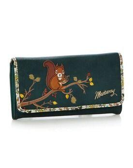 Forest animals wallet