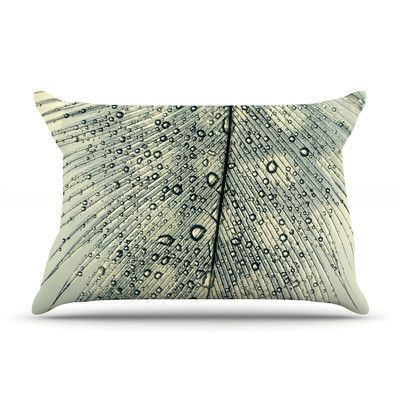 KESS InHouse Feather Light by Ingrid Beddoes Featherweight Pillow Sham Size: Queen, Fabric: Woven Polyester