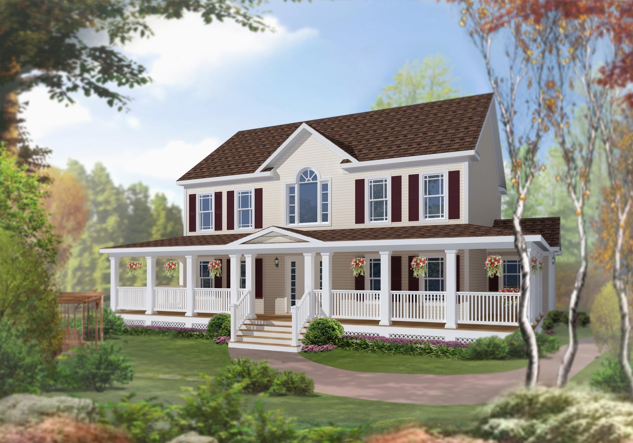 Two Story 4 Bedroom Modular Home Excel Homes