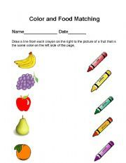 Heart Color Matching Worksheet - Twisty Noodle
