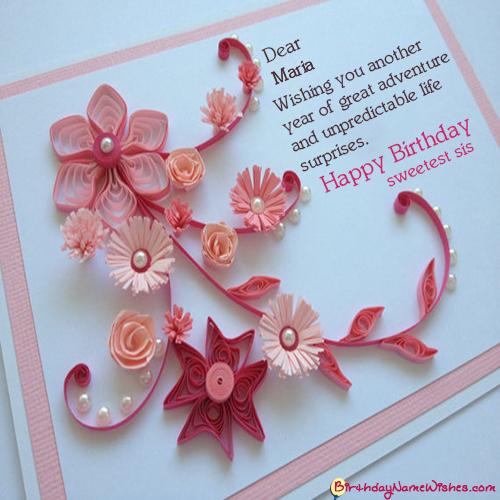 Maria Birthday Wishes Happy Birthday Maria Birthday Wishes