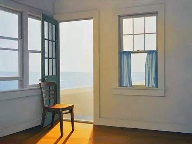 Paintings of absence and melancholy (I) – Chairs and windows by ...
