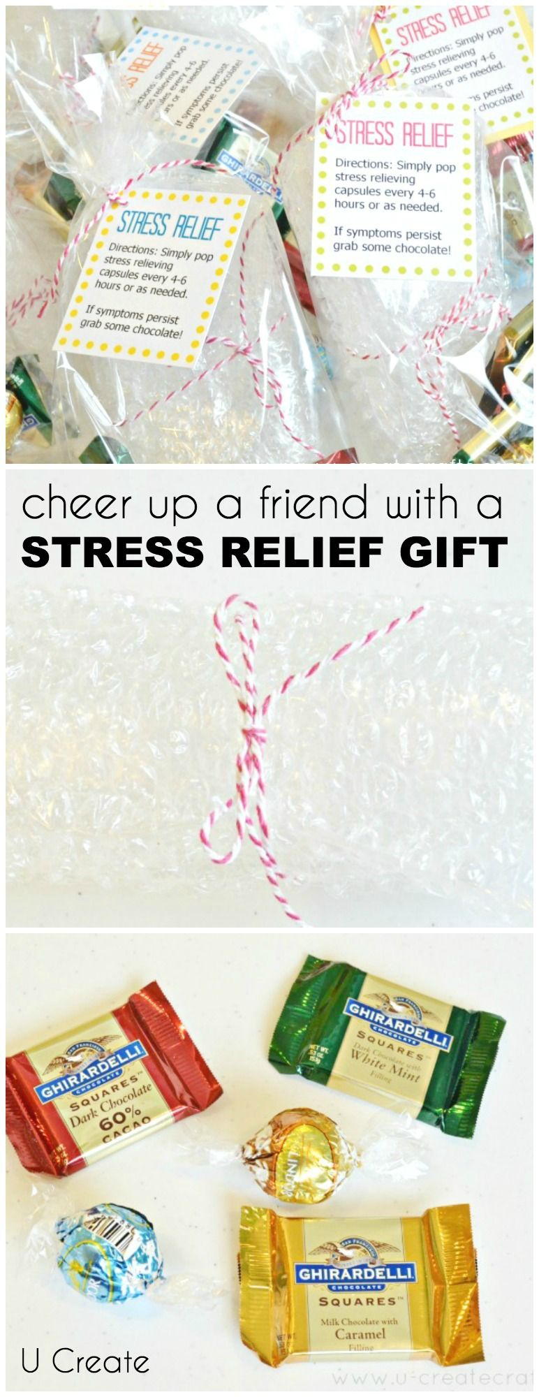 Simple Stress Relief Gift Idea Free Printables Cheer