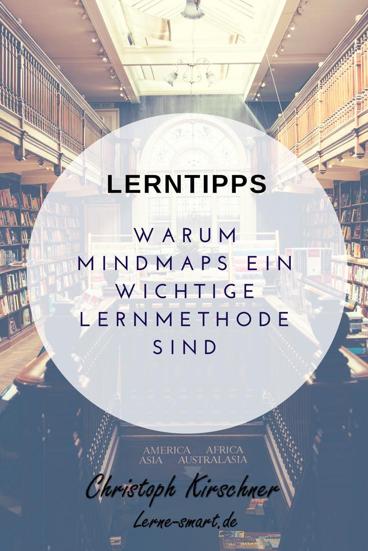 Was ist eine Mindmap? - Eine der besten Lernmethoden!