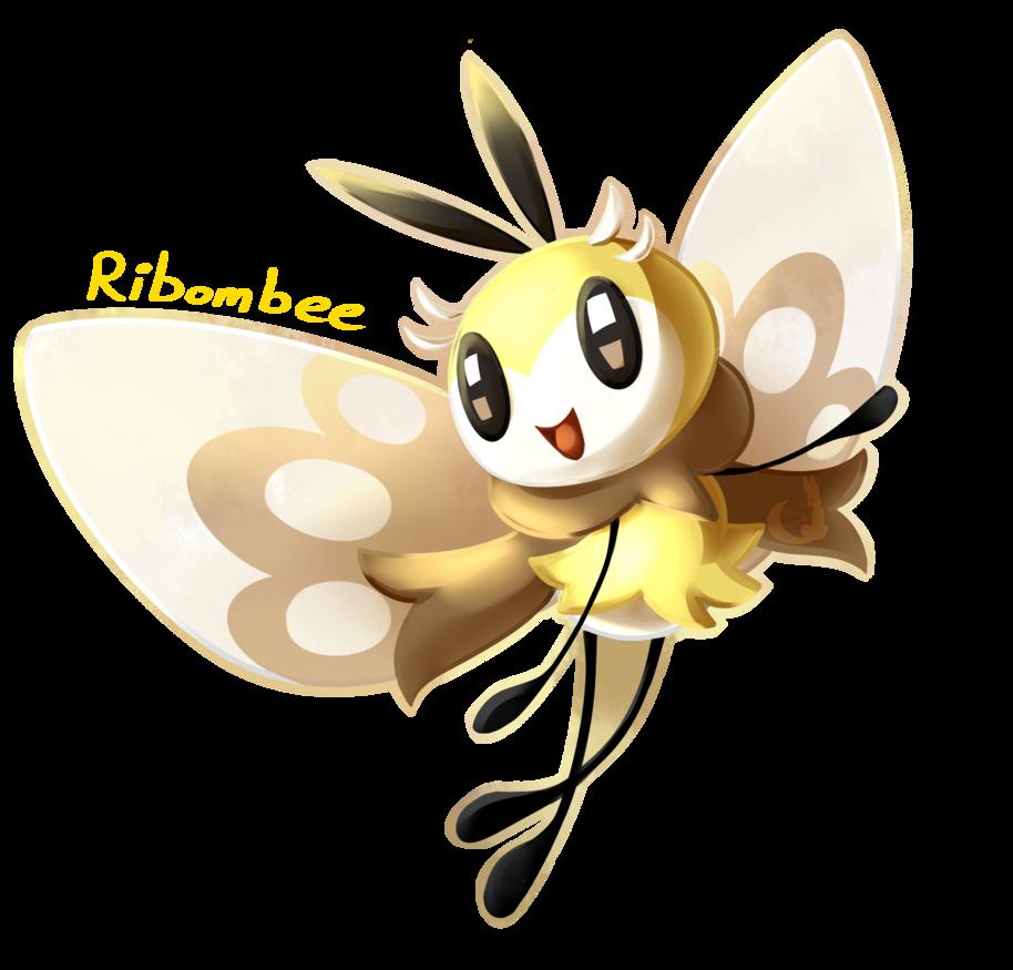 Ribombee By Kitsuguardian Pokemon Character Art Pokemon Moon