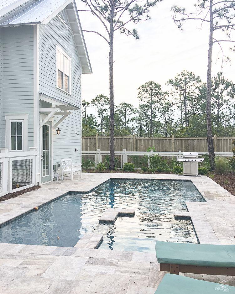 vacation recap to watercolor fl backyard florida homes exterior rh ar pinterest com