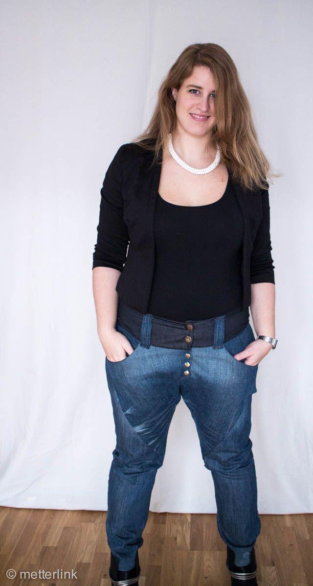 metterlink, boyfriend, hose, jeans, nähen, girlfriend, schnittmuster ...