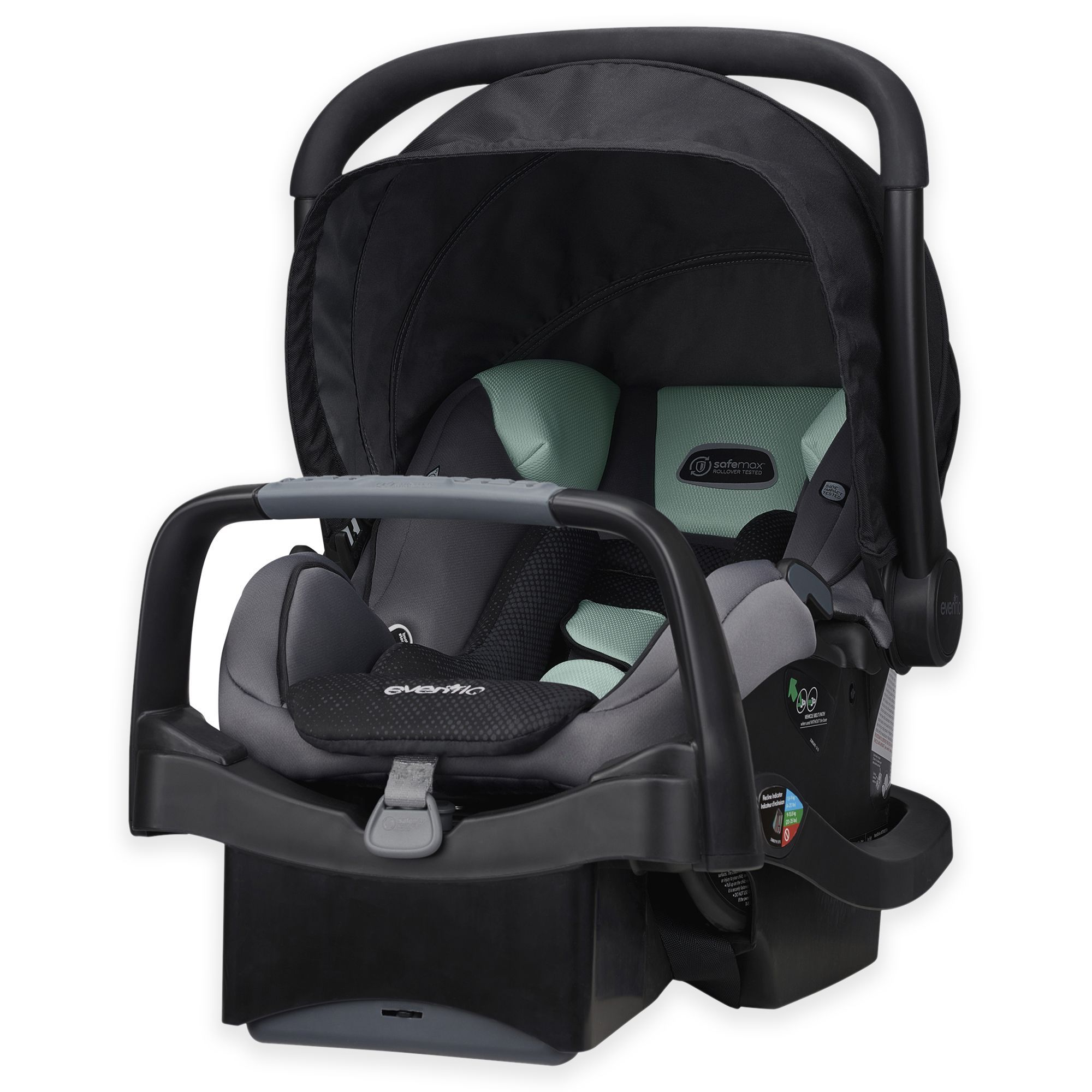 Evenflo SafeMax Infant Car Seat evenflo carseat baby baby