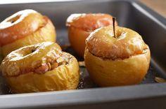 Pomme au miel et aux fruits secs