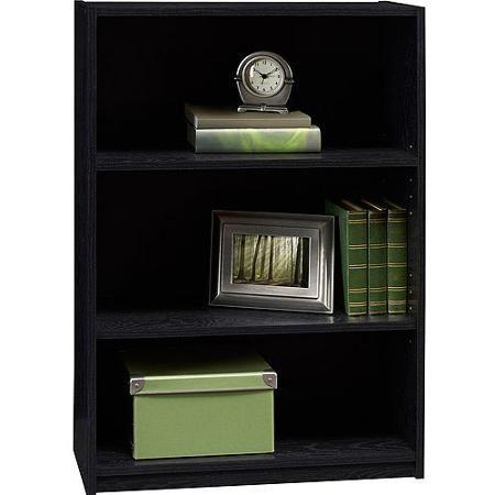 Ameriwood 3 Shelf Bookcase Multiple Finishes