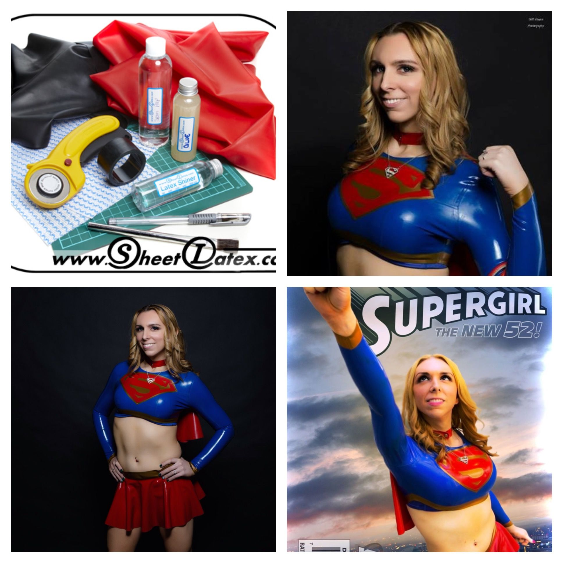 Free Giveaway: A Supergirl Latex Print and Latex-Costume-making Starter Kit ($70 value)   Enter Here: http://www.giveawaytab.com/mob.php?pageid=647267978666276