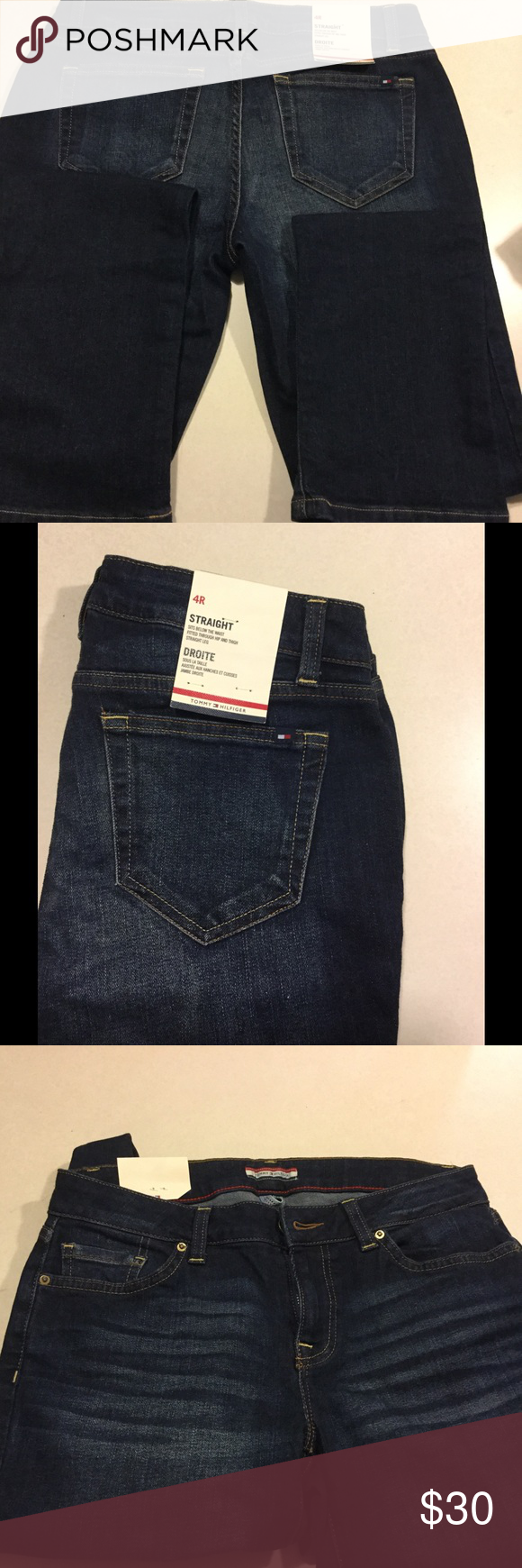 Tommy Hilifer Straight Jeans New Tommy Hilfiger straight jeans Tommy Hilfiger Jeans Straight Leg