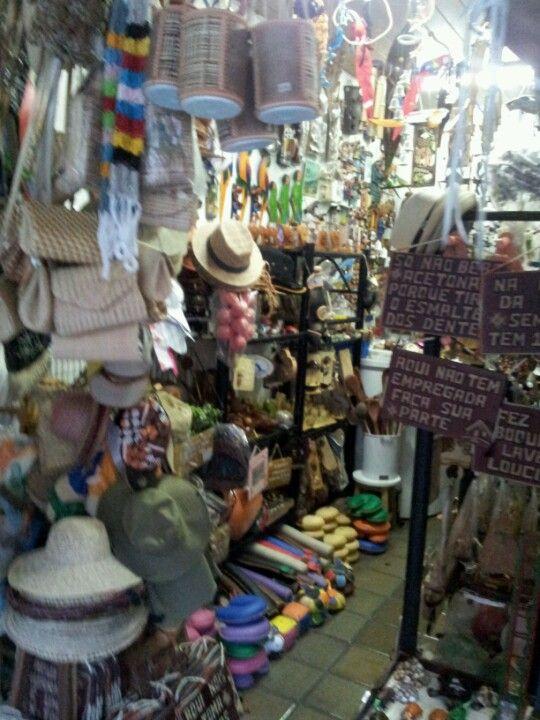 Mercado de Artesanato Paraibano em João Pessoa, PB