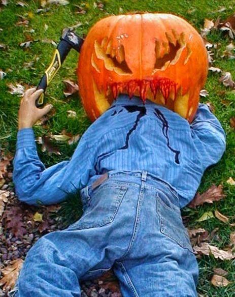 Id es pour le d coupage de citrouille halloween citrouille halloween sculptures de - Citrouille effrayante ...