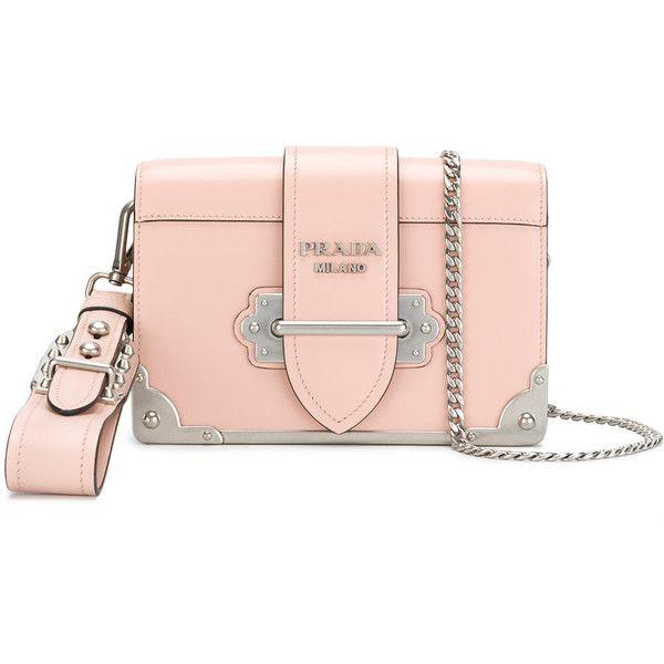 73830819a1f3 ... ireland prada cahier clutch 6.410 brl liked on polyvore featuring bags  handbags clutches prada purses chain