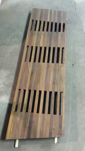 Re purposed boat deck