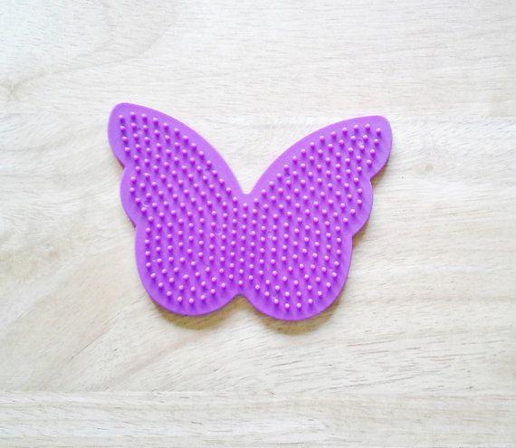 Perler Bead lila Schmetterling Pegboard von CreativeXpression1