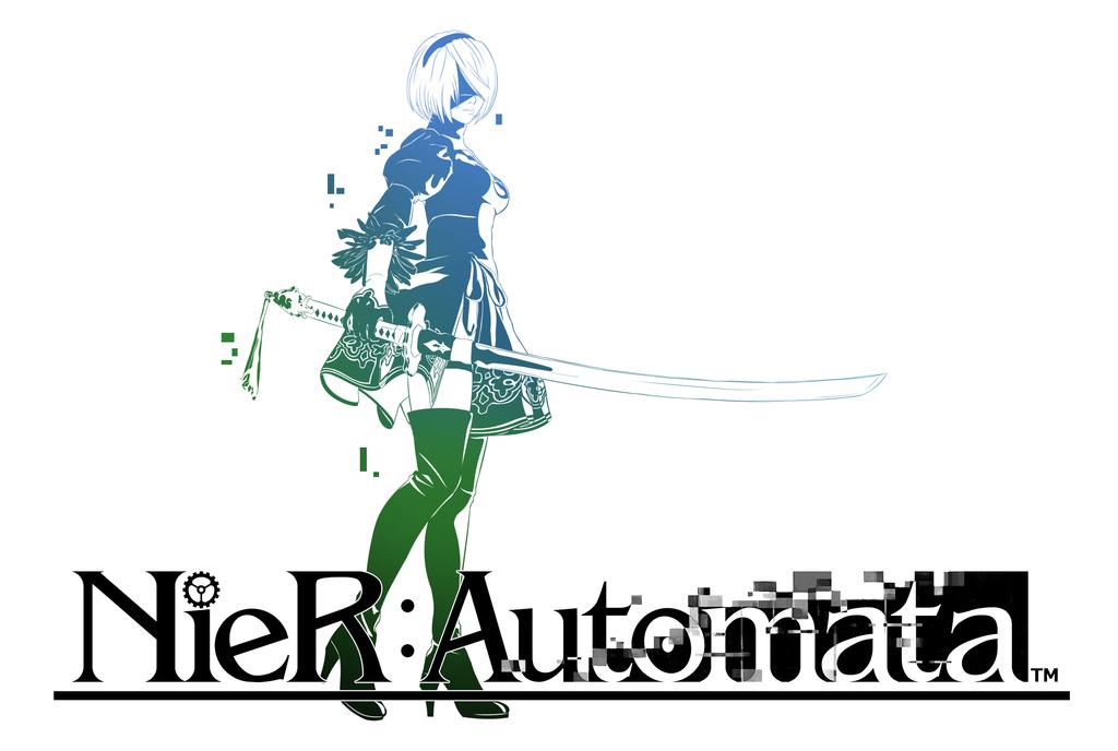 Nier Automata Final Fantasy Logo By Cuddlep00p Deviantart Com On Deviantart Final Fantasy Logo Nier Automata Automata