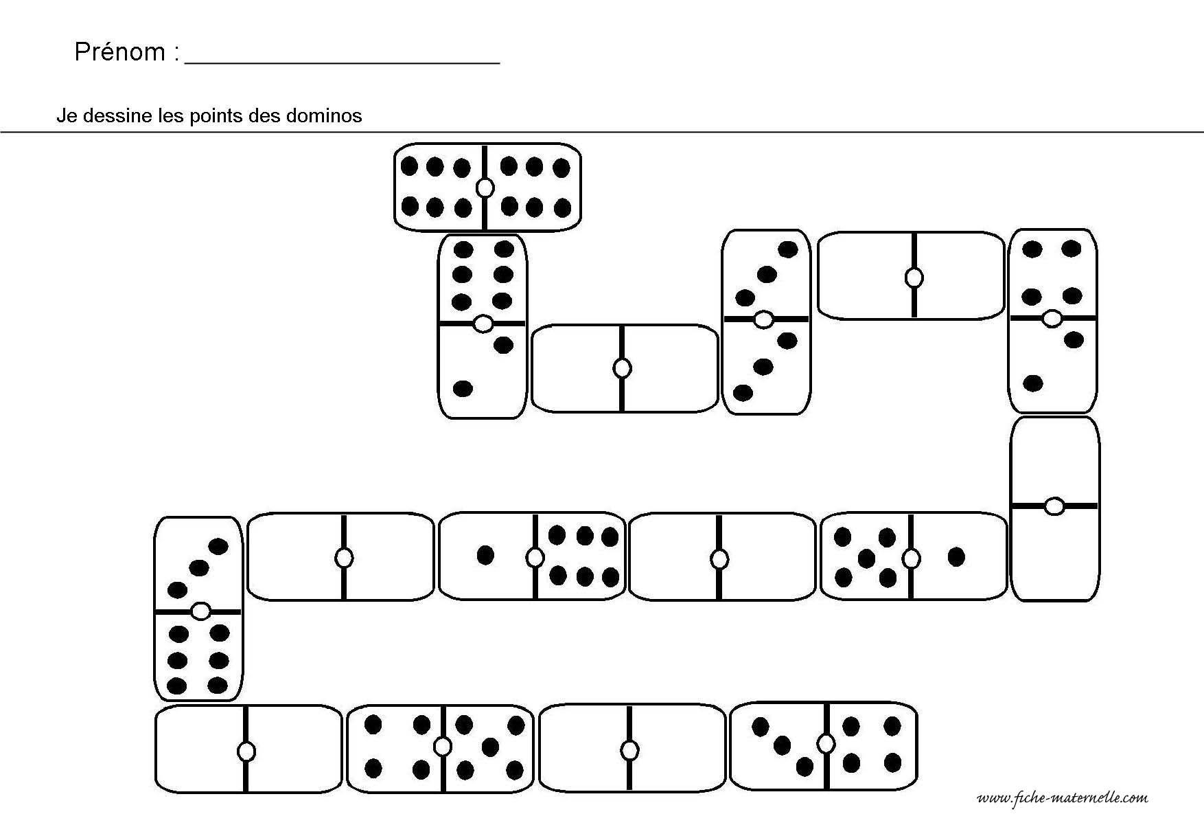 site maternelle jeu des dominos maternelle pinterest. Black Bedroom Furniture Sets. Home Design Ideas