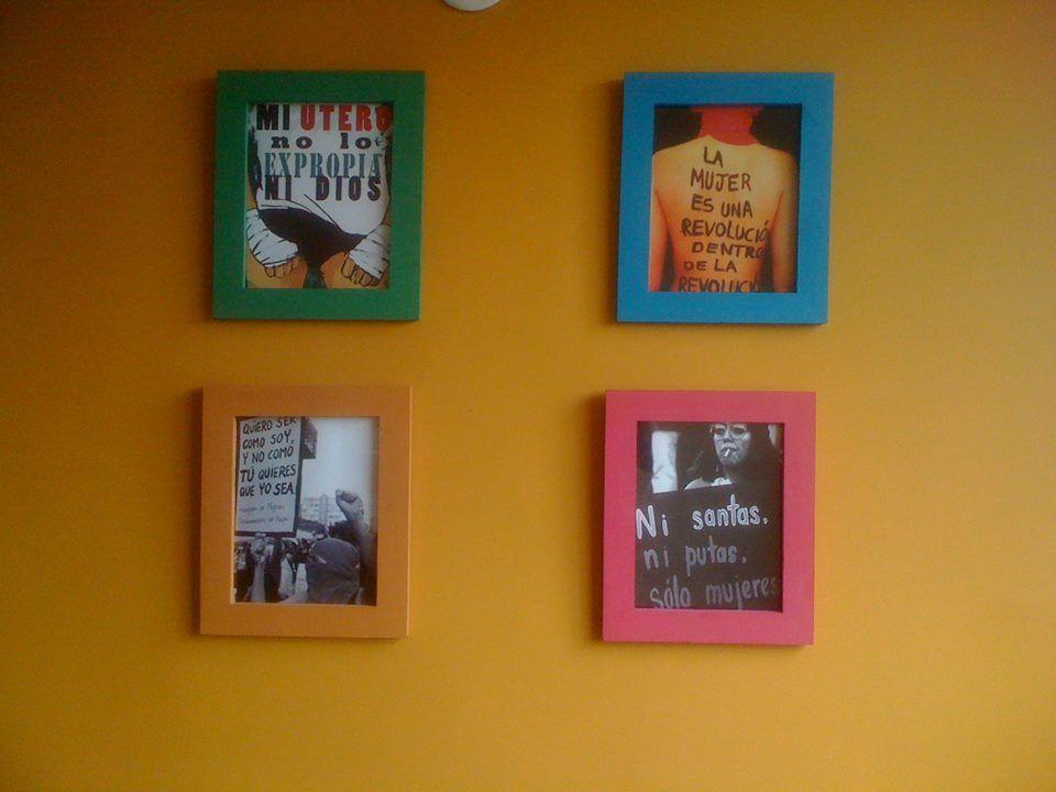 Nueva línea de cuadros feministas para la venta, disponibles en ...