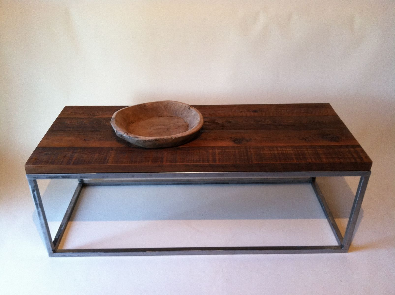 Reclaimed Wood Coffee Tables With Rectagular Polished Metal Base Coffee Table Wood Reclaimed Wood Coffee Table Cherry Wood Coffee Table [ 1200 x 1606 Pixel ]