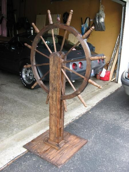 First Project Of 2008 My Pirate Ship Wheel In 2019
