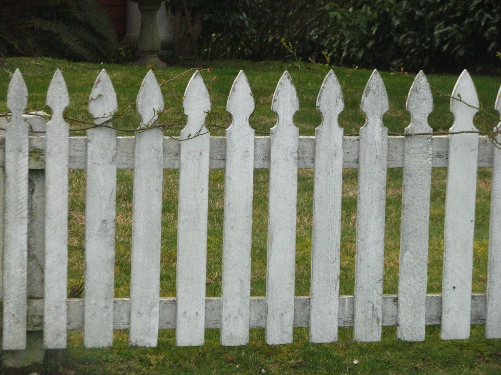 white picket fence. Picket Fence Wallpaper | Wide HD White