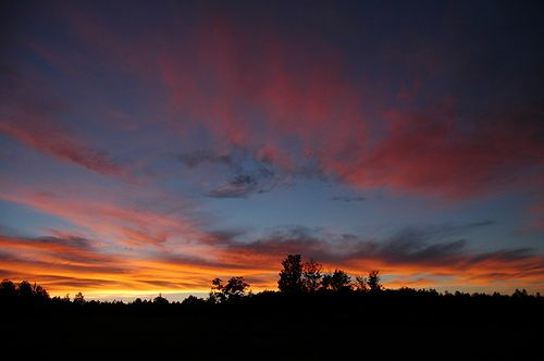 # sunset vermont