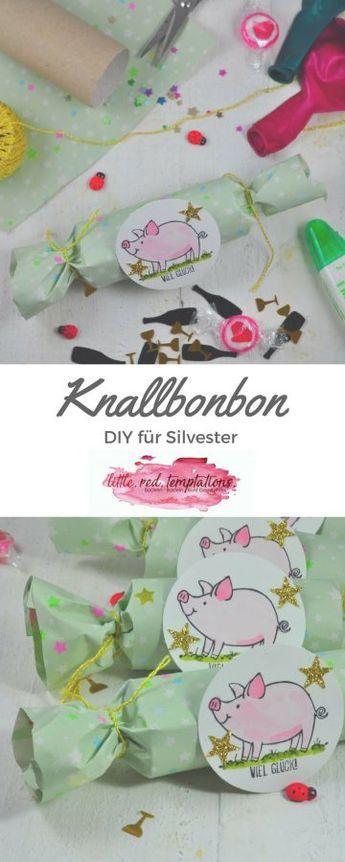 Knallbonbons selber machen - DIY für die Silvesterparty - little. red. temptations.