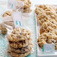 Carron's Killer Cookies- with coconut, Rice Krispies and Chocolate chips