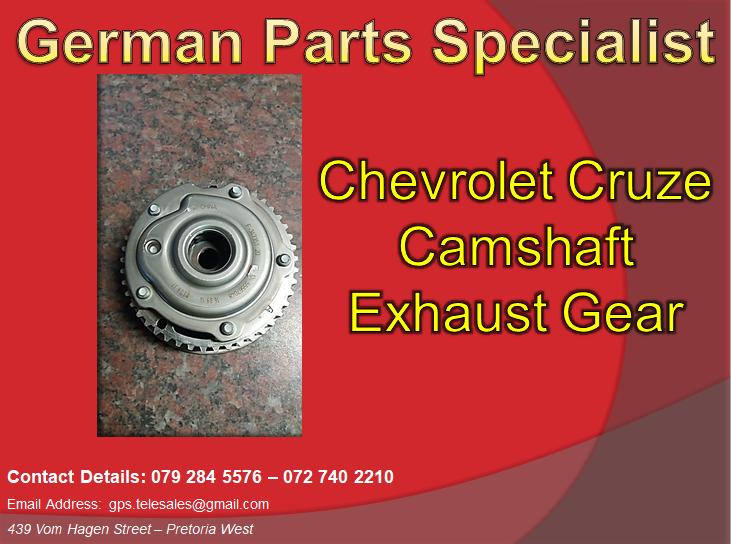 Chevrolet Cruze Camshaft Exhaust Gear We Deliver In Gauteng And