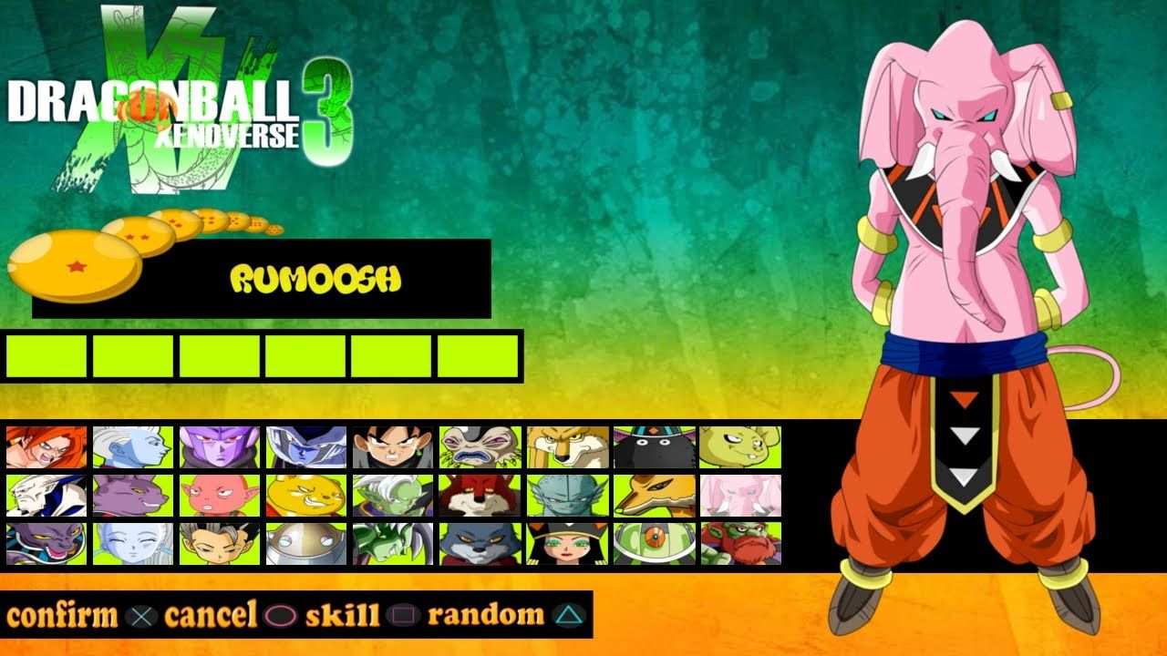 Dragon Ball Xenoverse 3 Game Concept New Characters Dlc