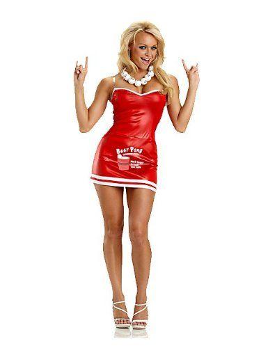 cute red beer cup dress