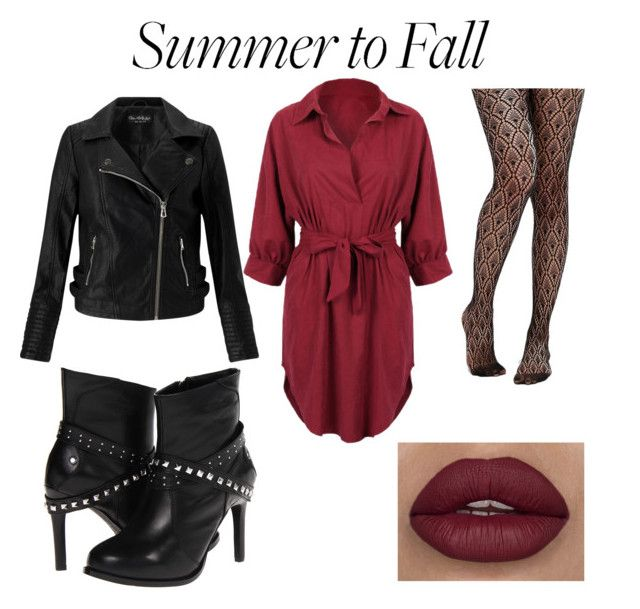 """summer to fall"" by ashleeann0513 on Polyvore featuring WithChic, Miss Selfridge, ASOS and Harley-Davidson"