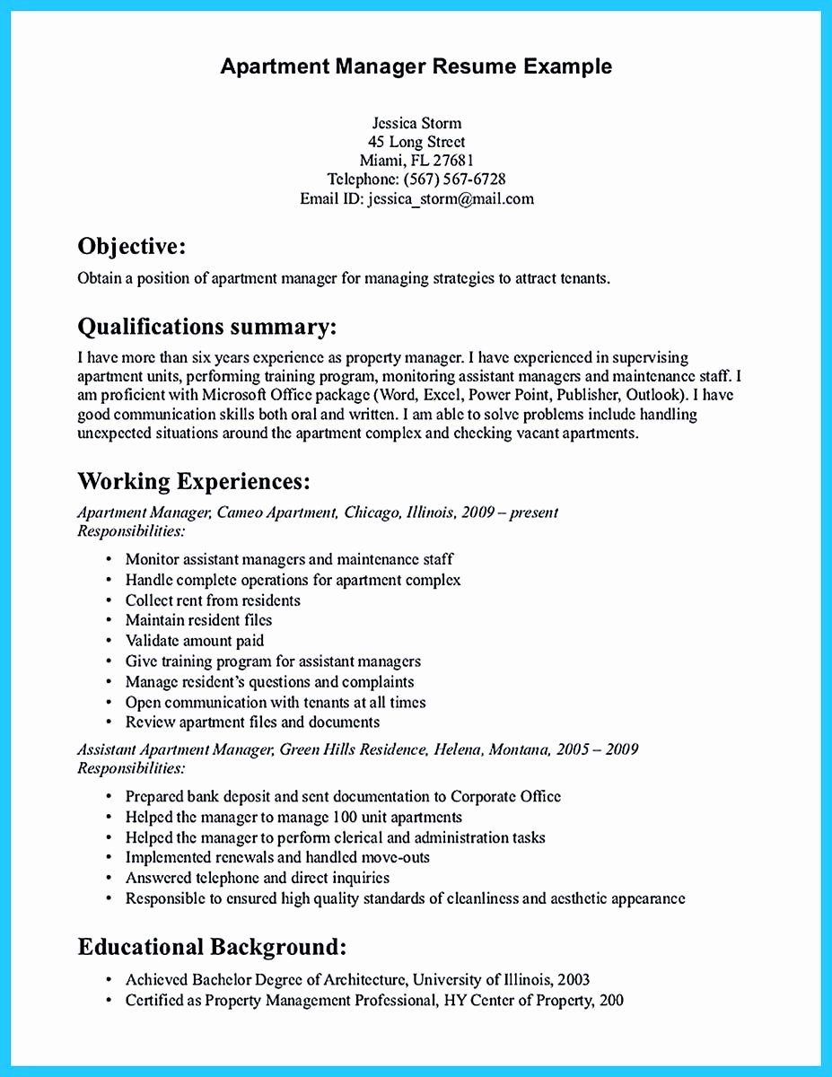 Property Management Proposal Template In 2020 Manager Resume