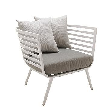 Vista Lounge Chair With Cushions Storage Outdoor Furniture