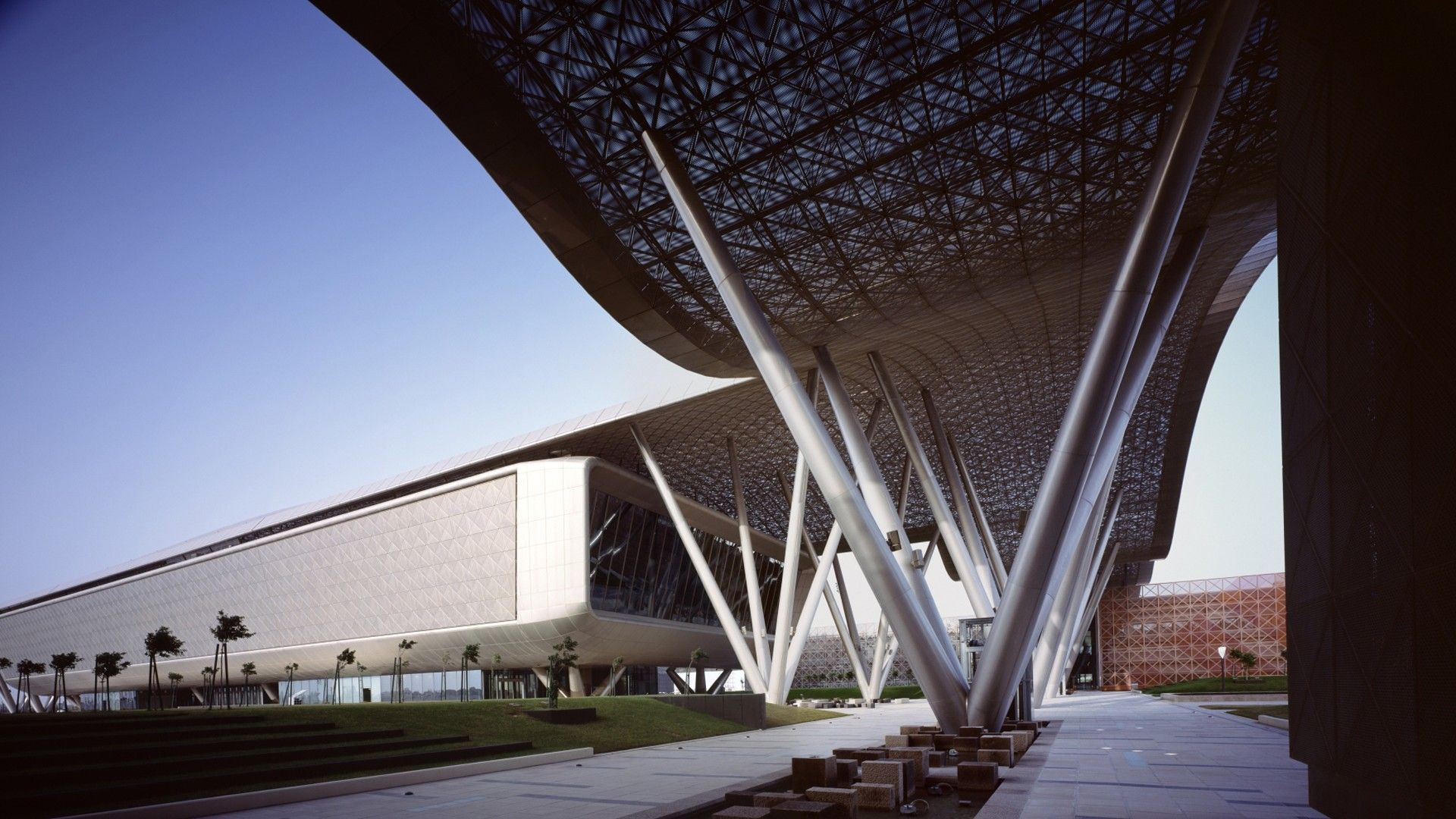 Woodsbagot qatar science and technology park for Architecture firms in qatar