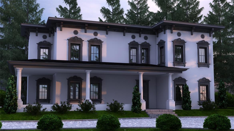 Italia 200 m2 casas de dise o donacasa pinterest for Disenos de casas 120 m2