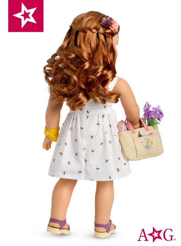 American Girl Doll Blaire Wilson Doll /& Book GOTY 2019 red hair farm chef New