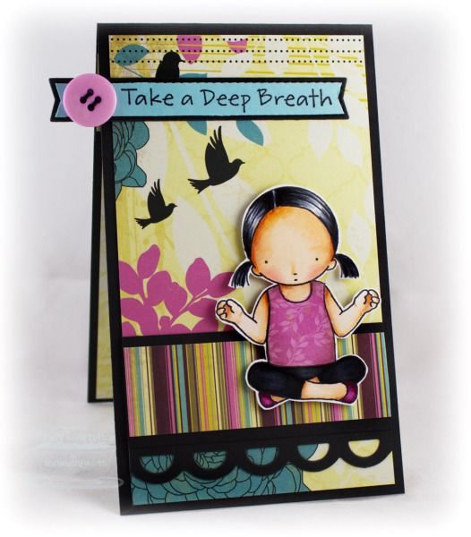Take a Deep Breath by One Happy Stamper - Cards and Paper Crafts at Splitcoaststampers