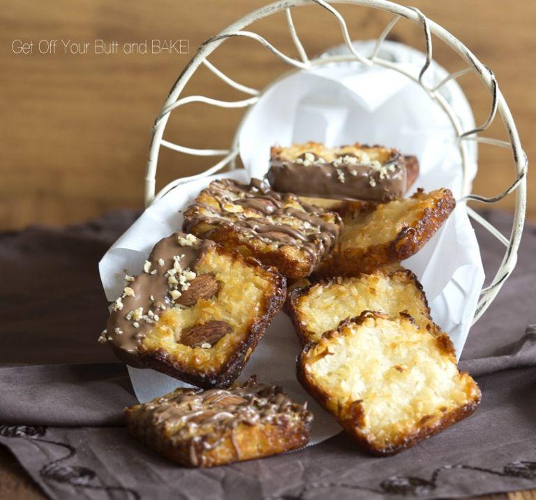 Easy Macaroons- plain or Almond Joy