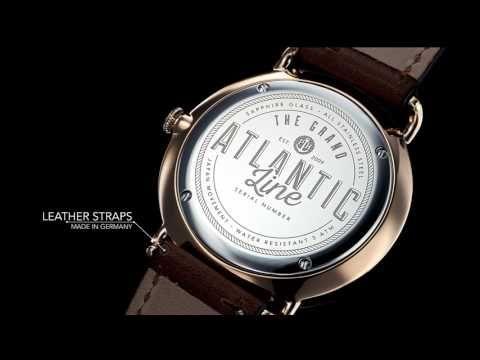 Uhr Grand Atlantic Line White Sand Roségold Metallband Roségold | PAUL HEWITT- hochwertige Uhren, Schmuckstücke und Accessoires